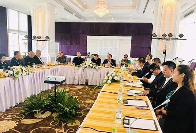 ФОТО.     13 июня 2019 г., в Тайланде г.Бангкок, прошла встреча по развитию МуайТай.