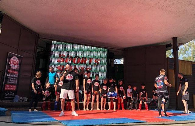 ФОТО.    Открытый мастер-класс по тайскому боксу в парке Лианозово 24.08.2019