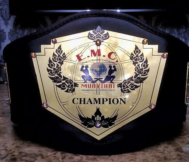 Пояса к Чемпионату Европы по тайскому боксу, который пройдет с 20 — 26 августа 2019, г. Белгород, Россия.