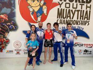 ФОТО.   Чемпионат МИРА по тайскому боксу 2019